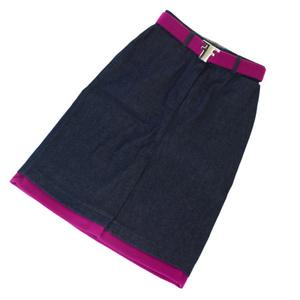 フェンディ(Fendi) レディース カジュアル スカート ブルー