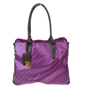 Gherardini Softy Polyester,Elastane Shoulder Bag Purple