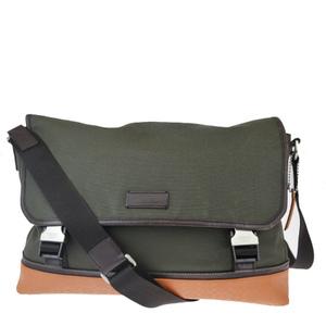 Coach Mini Signature F70941 Coated Canvas,Rubber Shoulder Bag Khaki