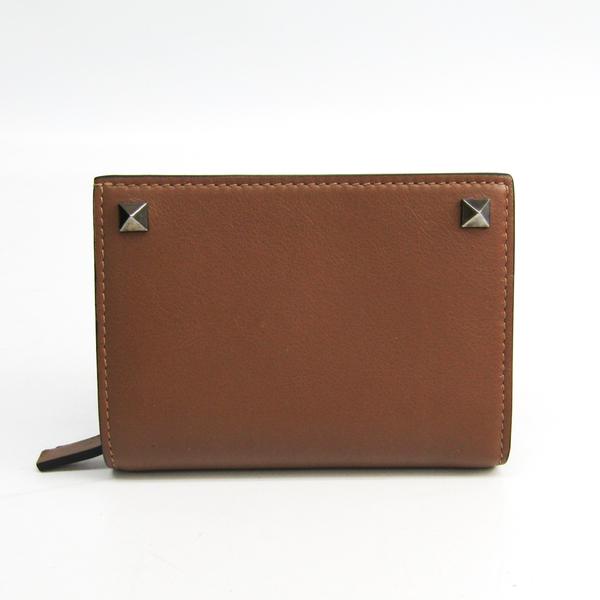 バレンチノ(Valentino) IY0P0536VH3 レディース レザー 財布(二つ折り) ブラウン