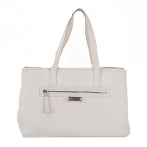 Salvatore Ferragamo Tote Bag Women's Leather Handbag,Tote Bag White