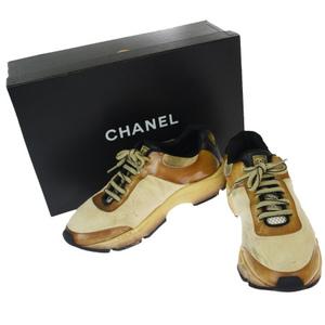 シャネル(Chanel) レディース スニーカー (ベージュ)