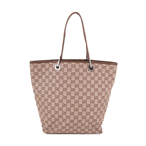 Gucci GG Canvas Totebag 002 098 Women's GG Canvas Shoulder Bag,Tote Bag Beige