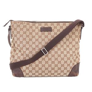 Gucci GG Canvas ShoulderBag 110054 Women's GG Canvas Shoulder Bag Beige