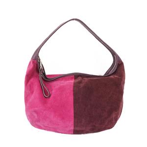 Auth Coach  Suede Shoulder Bag