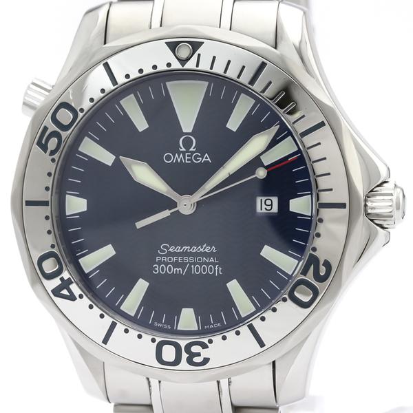 【OMEGA】オメガ シーマスター プロフェッショナル 300M ステンレススチール クォーツ メンズ 時計 2265.80