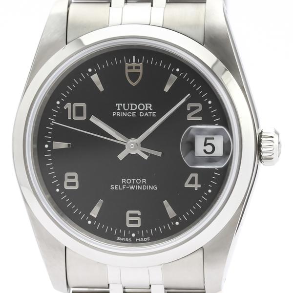 チュードル(Tudor) プリンス・オイスター・デイト 自動巻き ステンレススチール(SS) メンズ ドレスウォッチ 74000N