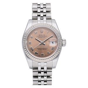 Rolex Datejust Automatic Stainless Steel,White Gold (18K) Women's Dress Watch 179174