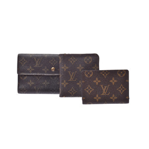 Louis Vuitton PVC Wallet Brown