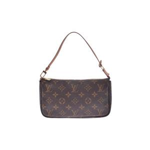 Louis Vuitton Monogram Pochette Accessoires M51980 Women's Handbag Monogram