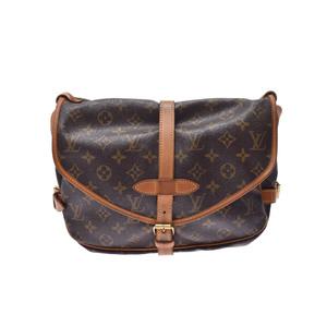 Louis Vuitton Monogram Saumur M42256 Shoulder Bag Monogram