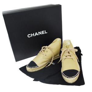 シャネル(Chanel) レディース スニーカー (ベージュ) エスパドリーユ