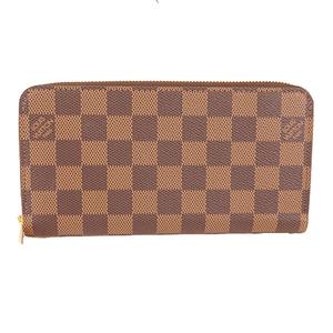 ルイヴィトン 二つ折り長財布 ダミエ ジッピーウォレット N41661