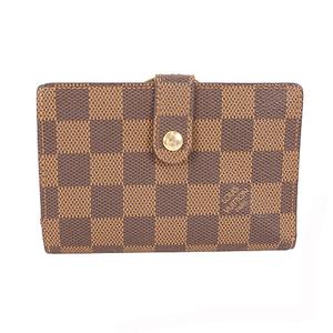 ルイヴィトン 二つ折り財布 ダミエ ポルトフォイユヴィエノワ N61664