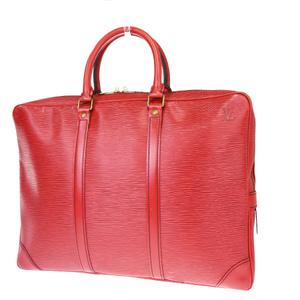 ルイ・ヴィトン(Louis Vuitton) エピ ポルトドキュマン ヴォワヤージュ M54477 ブリーフケース カスティリアンレッド