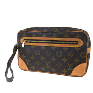 Louis Vuitton Monogram Marly Dragonine GM M51825 Clutch Bag Monogram