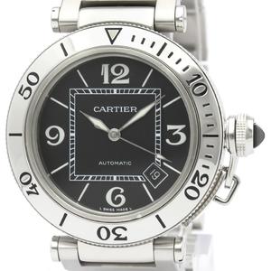 【CARTIER】カルティエ パシャ シータイマー ステンレススチール 自動巻き メンズ 時計 W31077M7