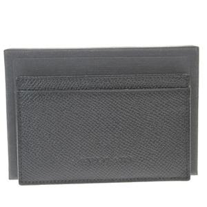 ブルガリ(Bvlgari) レザー カードケース ブラック