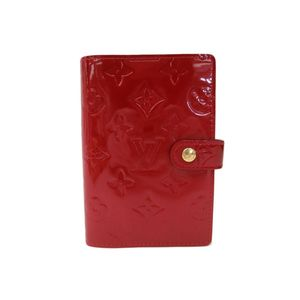 Louis Vuitton Monogram Vernis Planner Cover Pomme D'amour R21016 Agenda PM
