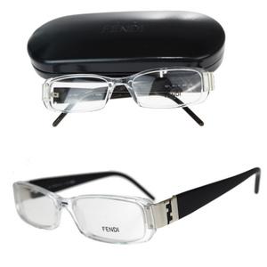 フェンディ(Fendi) F671 眼鏡フレーム 無地 ブラック