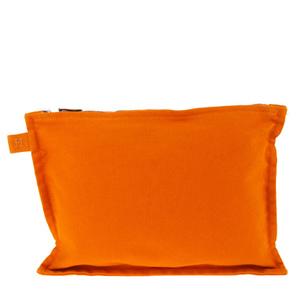 Hermes Bora Bora Cotton Pouch Orange