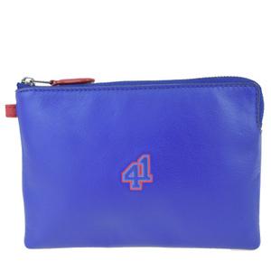 Coach 57478G Leather Pouch Blue