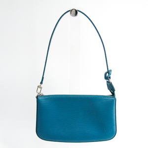 ルイ・ヴィトン(Louis Vuitton) エピ ポシェット・アクセソワール M40823 レディース ハンドバッグ シアン