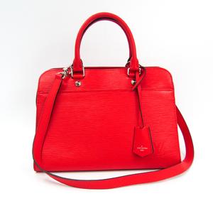 Louis Vuitton Epi Vaneau MM M51246 Women's Handbag,Shoulder Bag Coquelicots