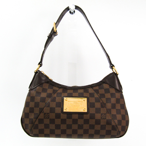 Louis Vuitton Damier Thames PM N48180 Women's Shoulder Bag Ebene