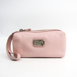 Tod's Women's Leather Pouch Light Pink