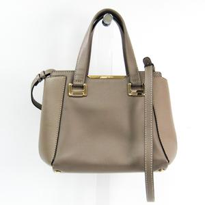 Jimmy Choo Women's Leather Handbag Grayish