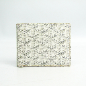 ゴヤール(Goyard) ユニセックス レザー,キャンバス 札入れ(二つ折り) ホワイト