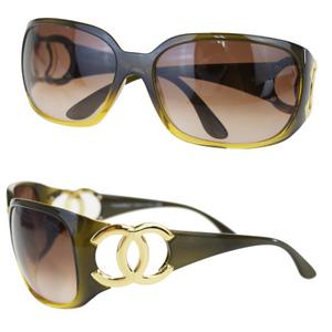 シャネル(Chanel) サングラス ブラウン ココマーク 6014