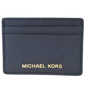 マイケル・コース(Michael Kors) レザー カードケース ブラック