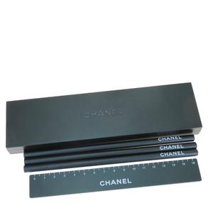シャネル(Chanel) 木 鉛筆 ペンケース 定規