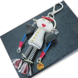 プラダ(Prada) ロボット キーホルダー (ホワイト)