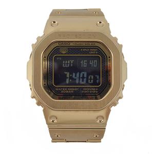 カシオ Gショック ソーラー ゴールド ブラック GMW-B5000