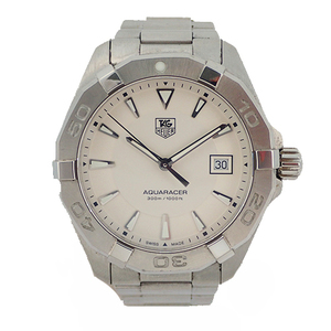 TAG HEUER Aquaracer Stainless Steel Quartz Mens Watch WAY1111