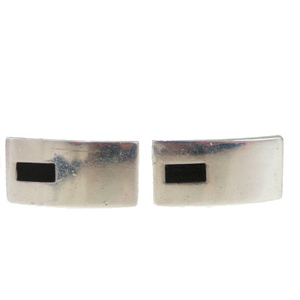 Gucci Silver 925 Bullet Back/toggle Cufflinks Silver
