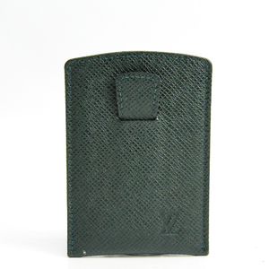 ルイ・ヴィトン(Louis Vuitton) タイガ エテュイ カルト・デ・ヴィジット ティレット M30544 レザー カードケース エピセア