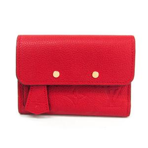 ルイ・ヴィトン(Louis Vuitton) モノグラムアンプラント ポルトフォイユ・ポンヌフ・コンパクト M62185 レディース モノグラムアンプラント 財布(三つ折り) スリーズ