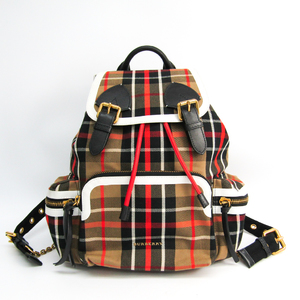 Burberry A:LL MD RUCKSACK RN6 40694521 Canvas,PVC Backpack Beige,Red,White
