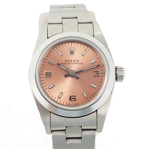 ROLEX Oyster Perpetual Automatic Stainless Steel Ladies Watch 76080