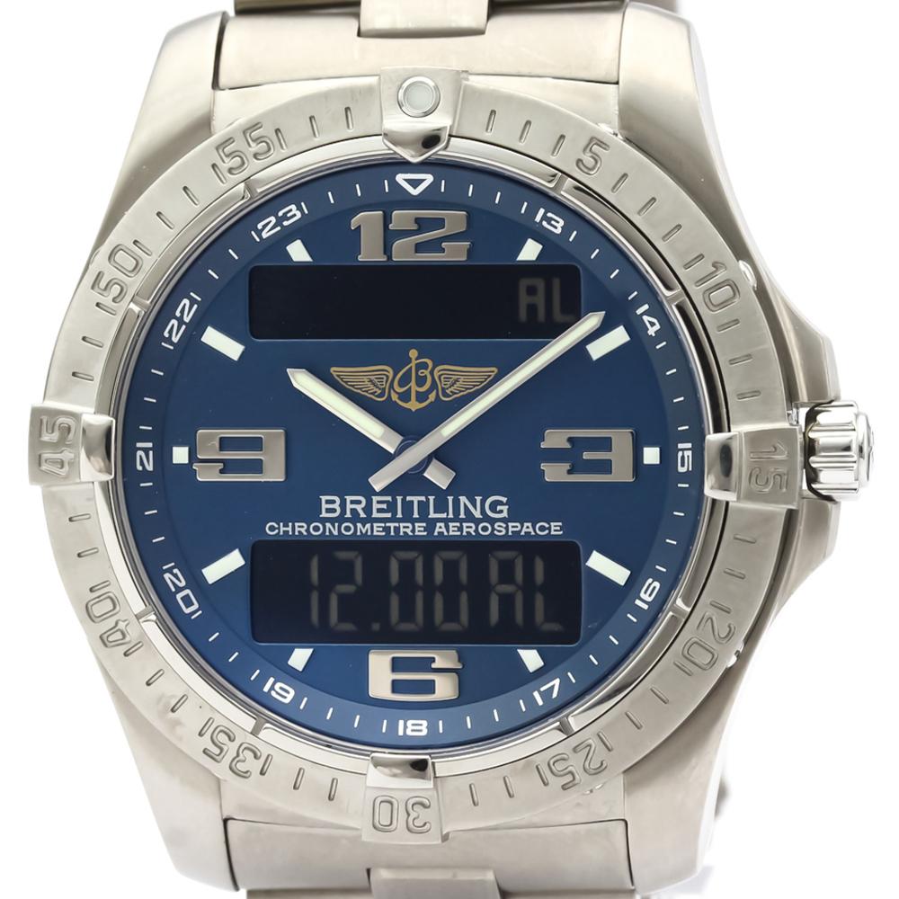 BREITLING Aerospace Avantage Titanium Quartz Mens Watch E79362