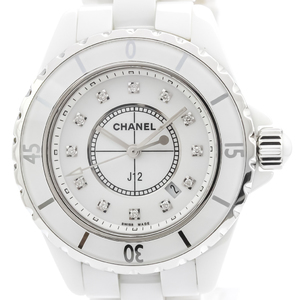 Chanel J12 Quartz Ceramic Women's Sports Watch H1628