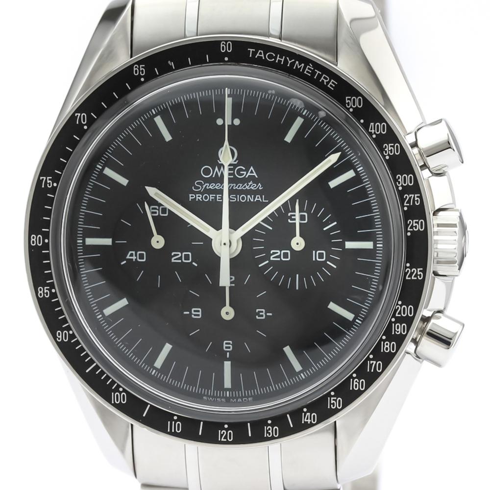 【OMEGA】オメガ スピードマスター プロフェッショナル ステンレススチール 手巻き メンズ 時計 3570.50
