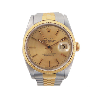 Rolex Datejust Automatic Stainless Steel,Yellow Gold Men's Watch 16233