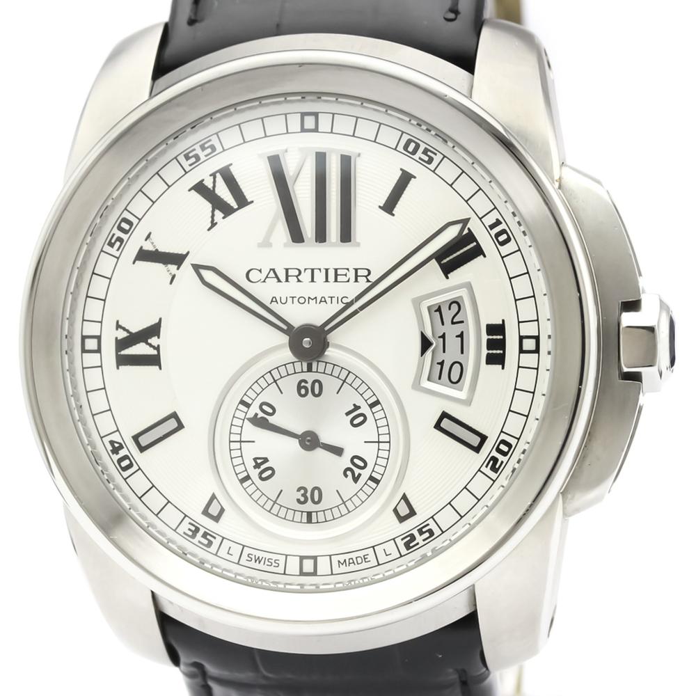 カルティエ(Cartier) カリブル・ドゥ・カルティエ 自動巻き ステンレススチール(SS) メンズ ドレスウォッチ W7100037