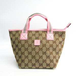 グッチ(Gucci) ウェビング チルドレン 284728 ガールズ,レディース GGキャンバス/ウェビング ハンドバッグ ベージュ,グレー,ピンク
