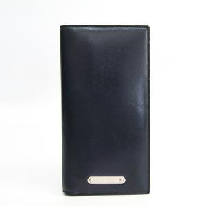 サン・ローラン(Saint Laurent) 467373 レディース  カーフスキン 長財布(二つ折り) ネイビー
